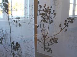 Silkscreen on thin fabric in Sweden
