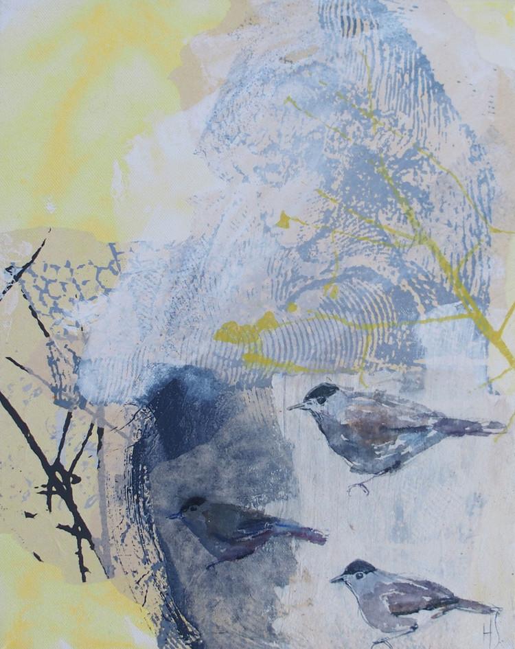 TRE FÅGLAR / THREE BIRDS