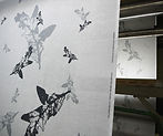 Printing of FALLING OAKLEAVES