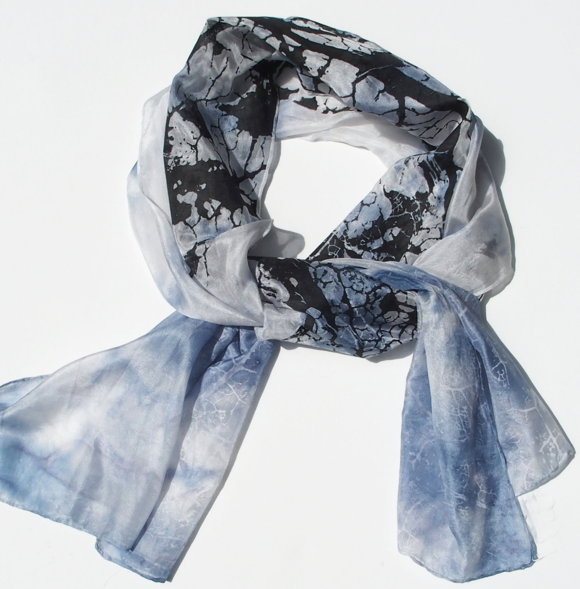 HANDPRINTED SILKSCARF