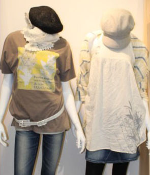 CLOTHS DESIGN WITH AUTHENTIC NATURE FOR EDWIN, JAPAN