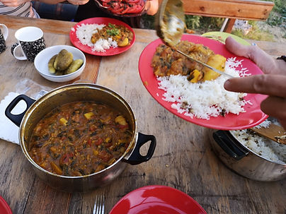 permaculture food curry