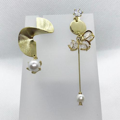Unbalanced Drop Earrings