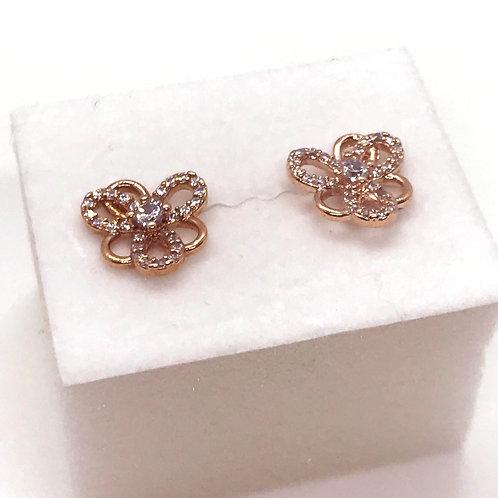 Flower Pierced Earrings