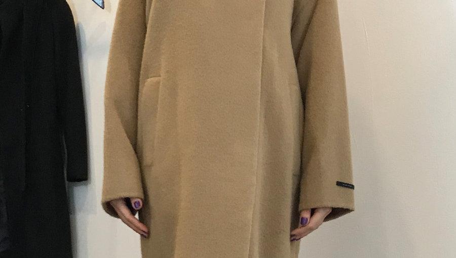 Alpaca Cocoon Coat