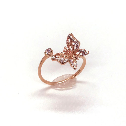 Detail Butterfly Ring