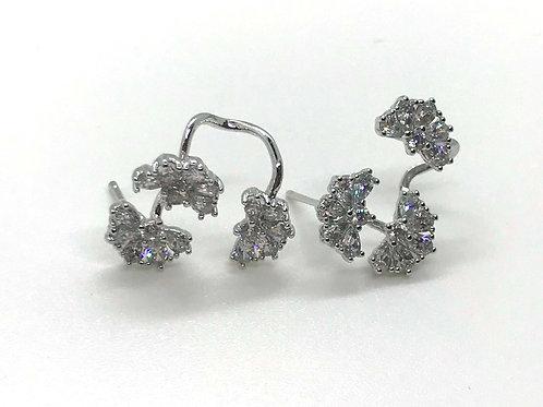 Three Half Moons Earrings