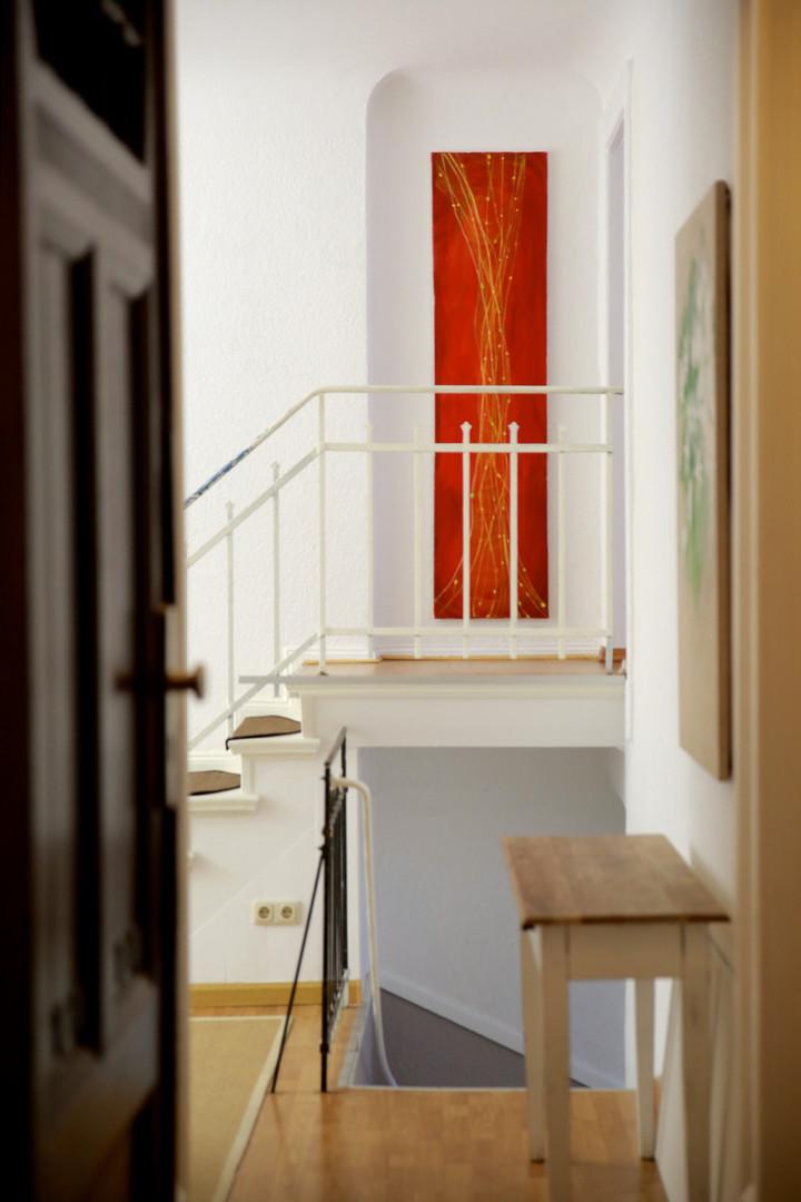 Eingang zur oberen Etage