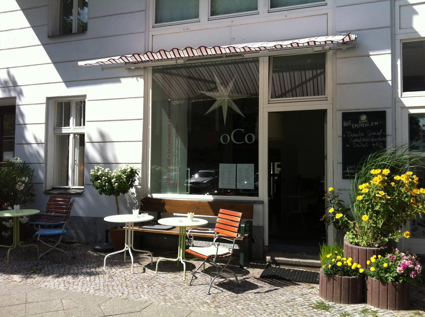 Eingang ins CoCo-Café