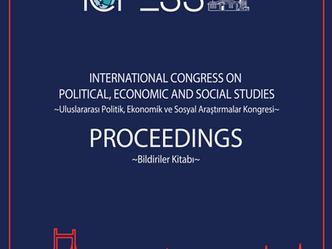 ICPESS 2016 Proceedings - Bildiriler Kitabı