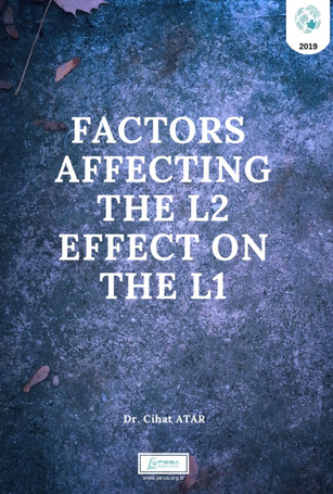 FACTORS AFFECTING  THE L2  EFFECT ON  THE L1