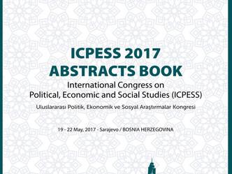 Abstracts Book-Bildiri Özetleri Kitabı (ICPESS 2017 Bosnia Herzegovina)