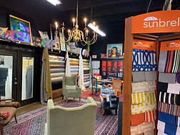 Fabrics Showroom by Miami Upholstery and Fabrics
