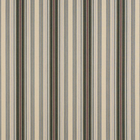 Alpine Burgundy Pencil Stripe 4922-0000