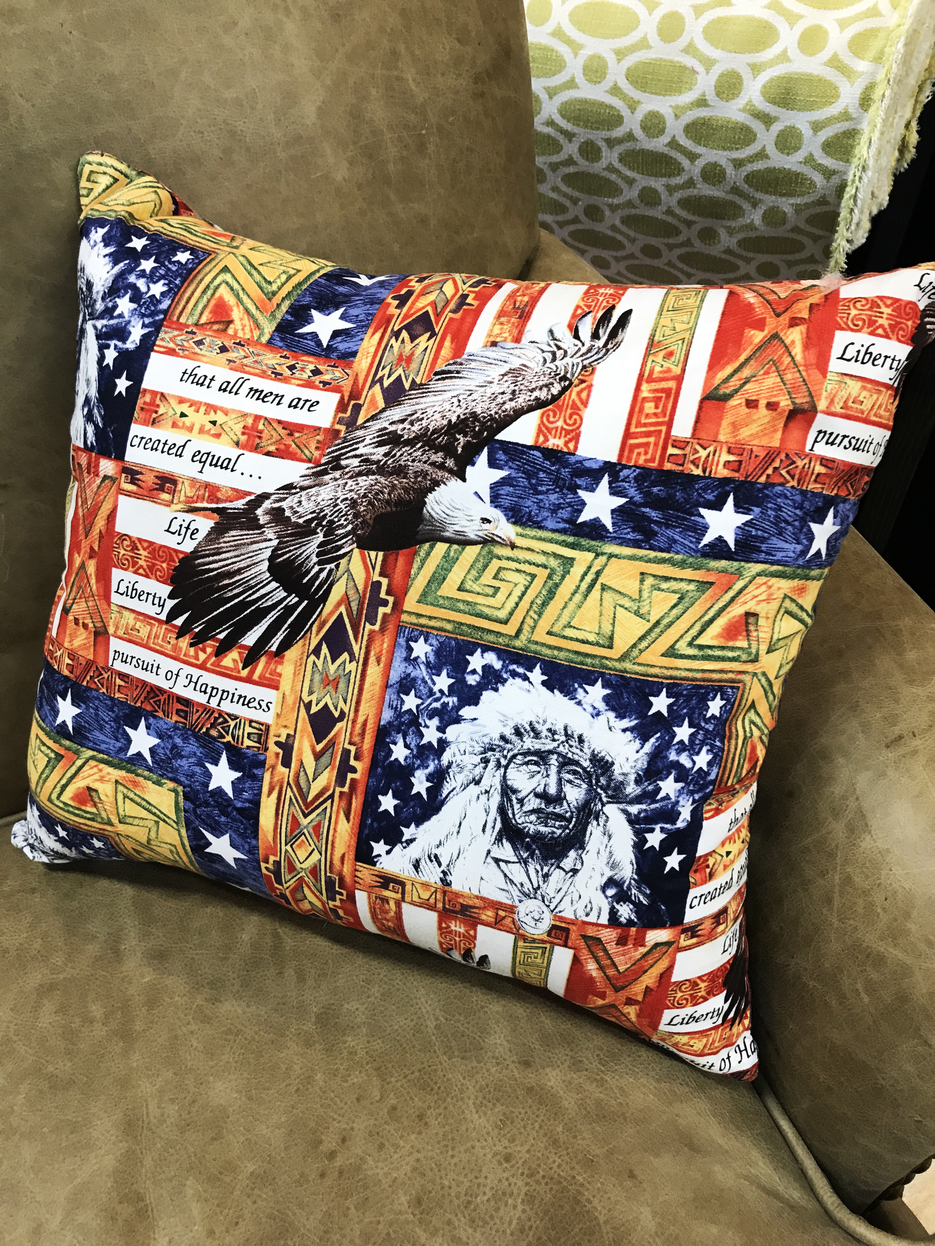 18x18 Decorative Pillow