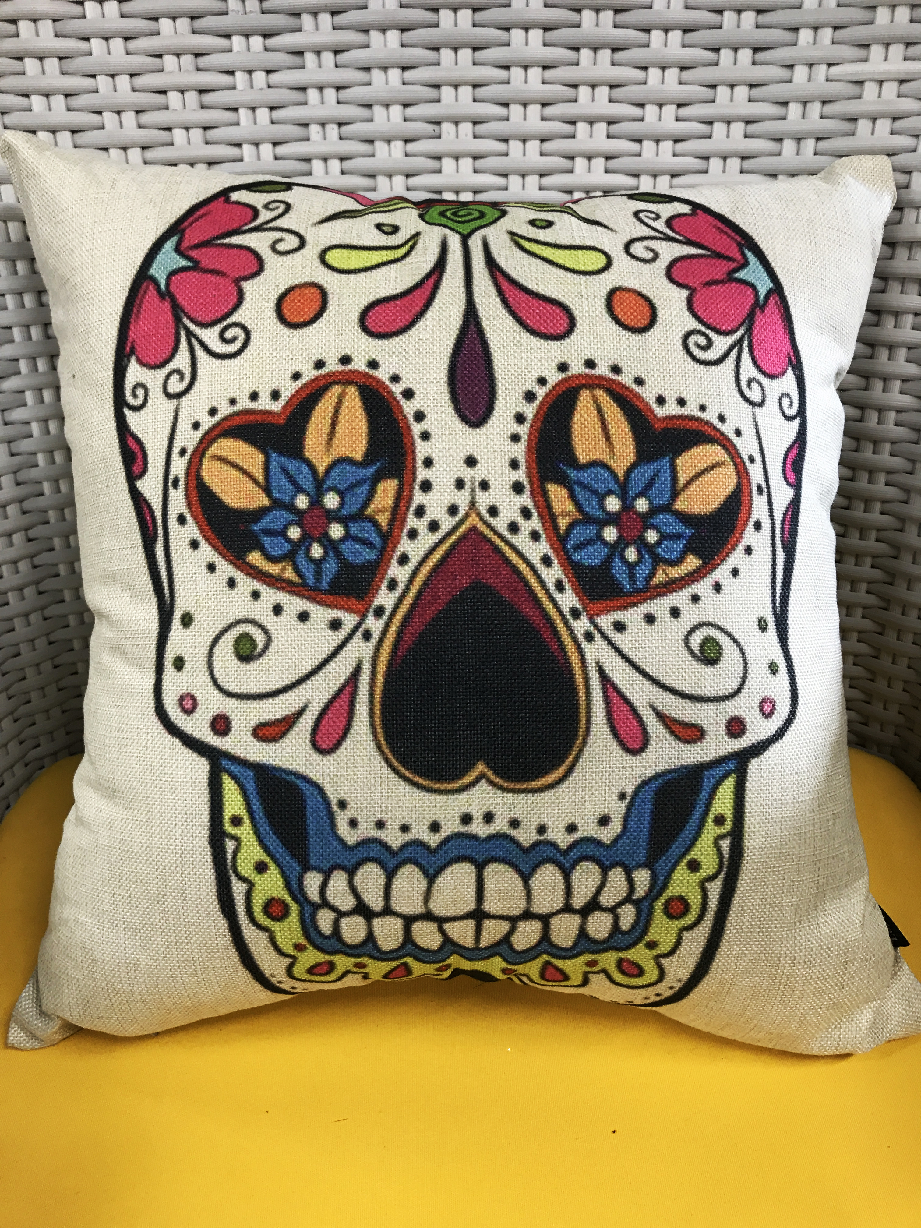 Mexican Fabric Pillow