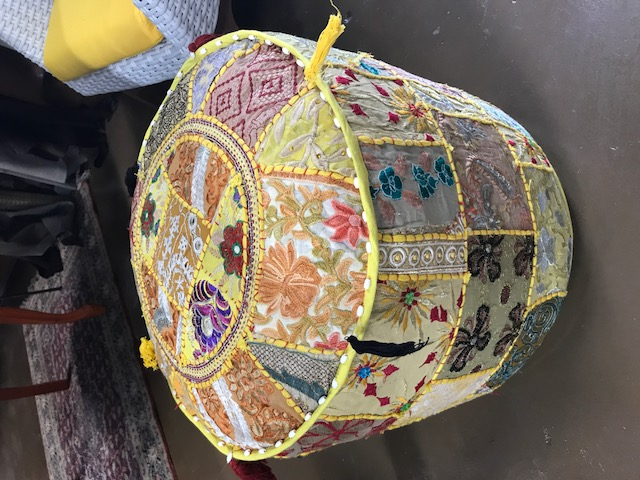 Pouf made in India