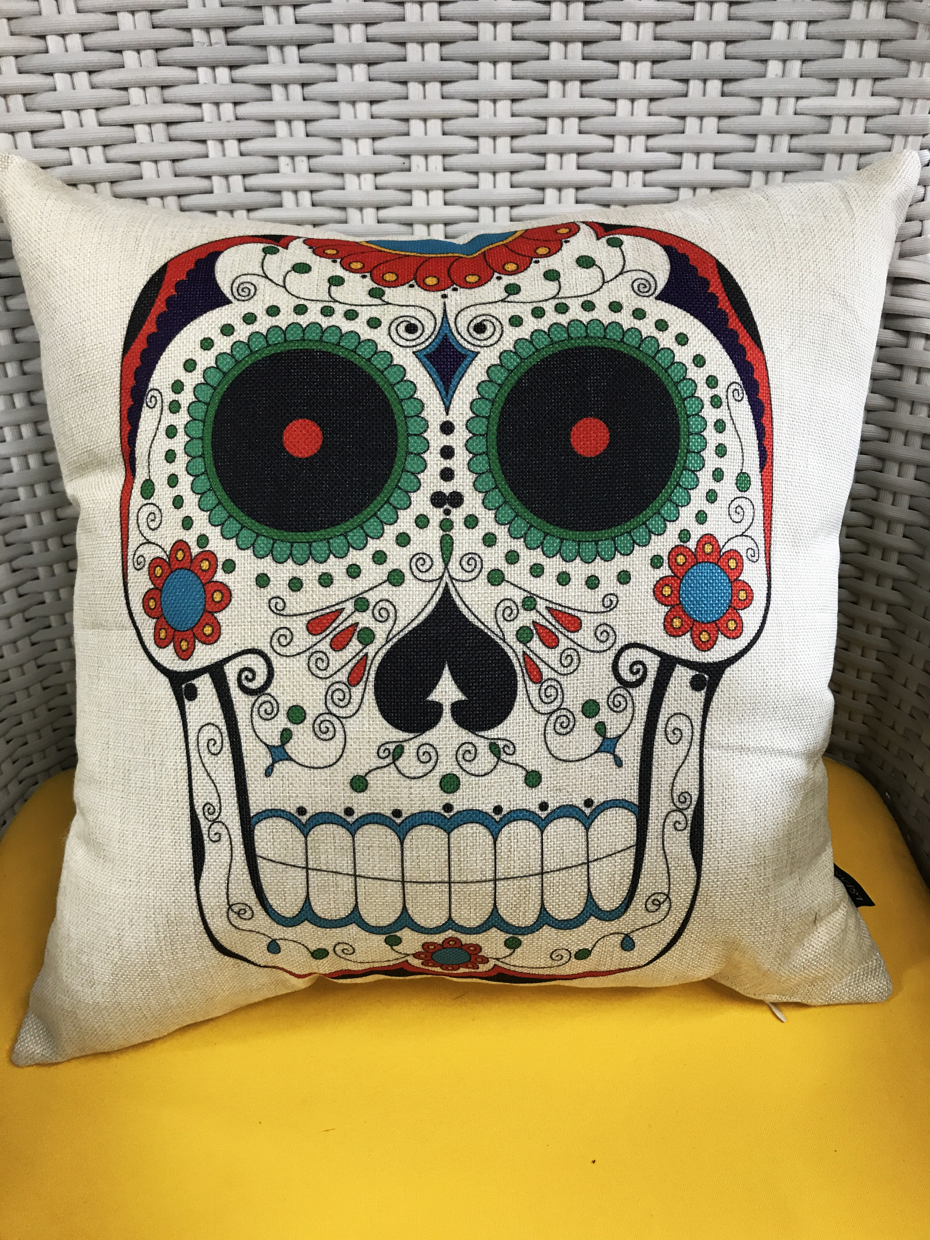 Pillow Mexican Design