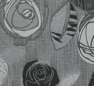 Rose Black White