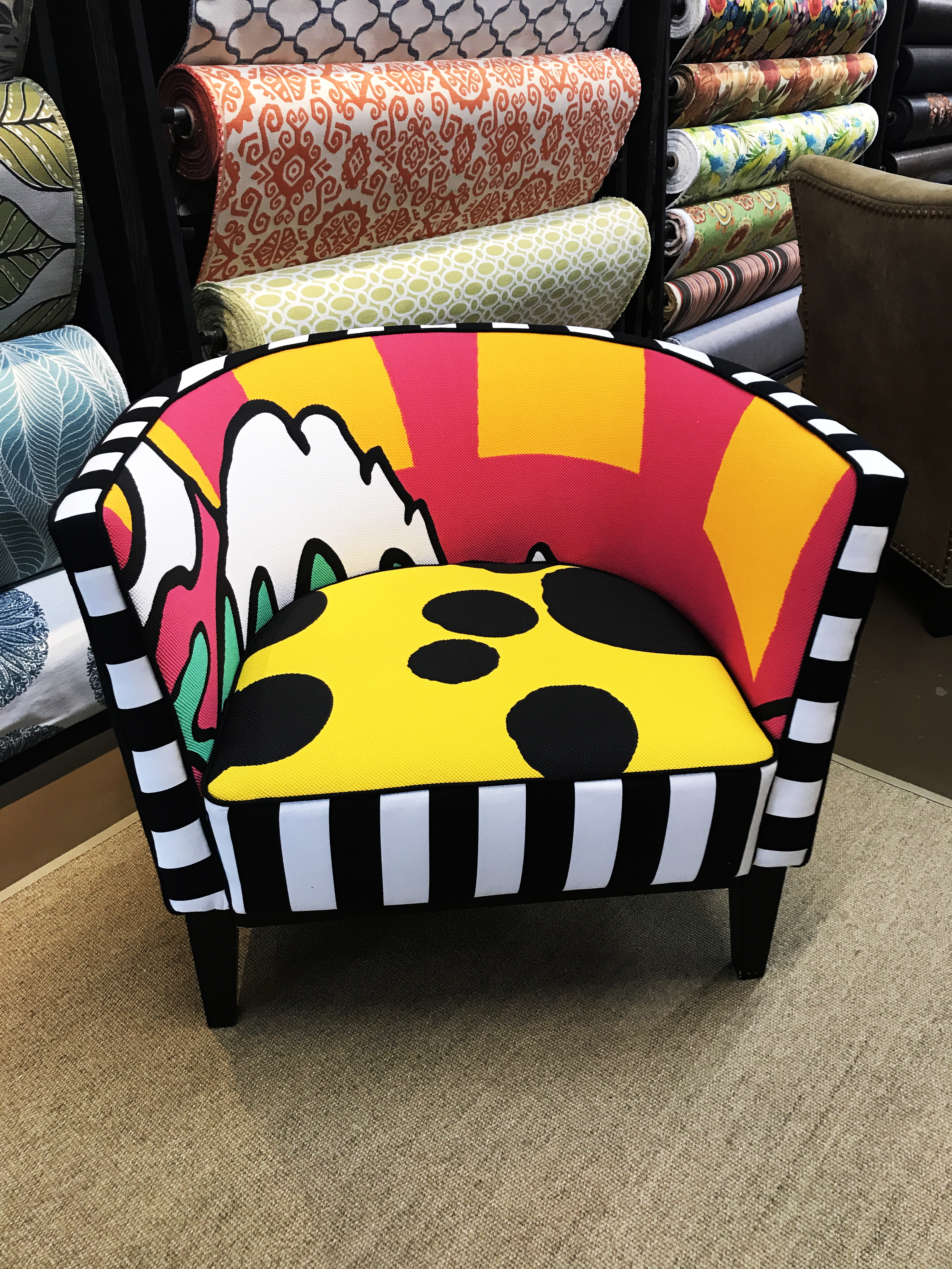 Custom Design Accent Chair