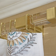 Lucite and Gold