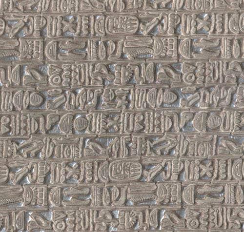 Hieroglyphic Leather