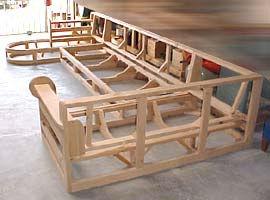We fabricate custom furniture