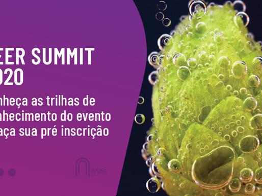 Beer Summit 2020: evento reúne trilhas de conhecimento sobre negócios, sommelieria, matérias primas