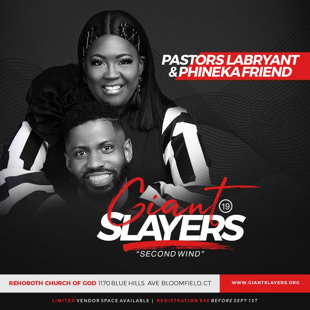 Pastors Labryant & Phineka Friend