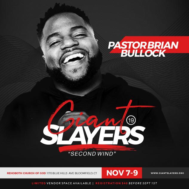 Pastor Brian Bullock