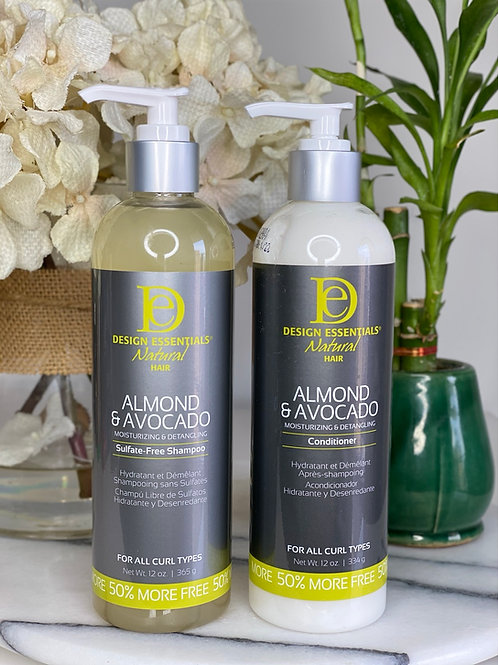Almond & Avocado Moisture Duo