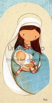 Virgencita azul 01
