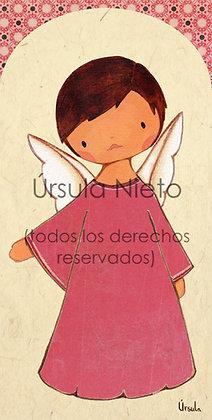 Angelito rosa oscuro 02