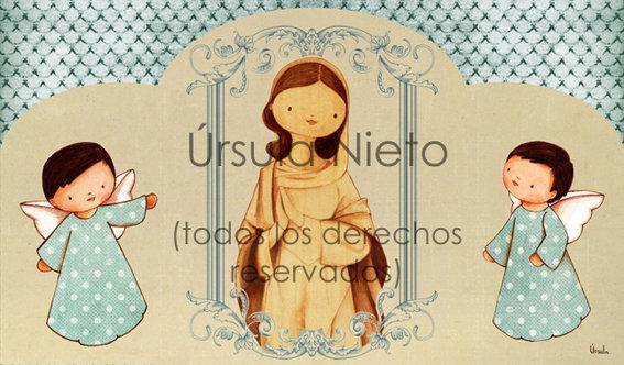 Tríptico de la Inmaculada (Colegio Parroquial Ntra. Sra. de las Nieves)