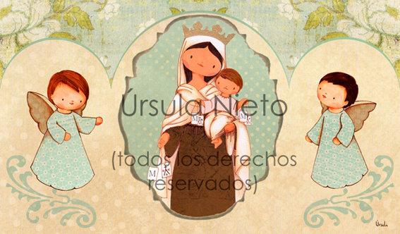 Tríptico de la Virgen del Carmen