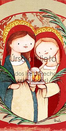 Santas Claudia y Alejandra