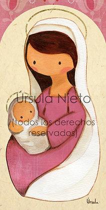 Virgencita rosa 01