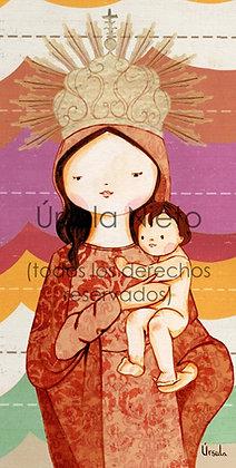 Virgen venerada en el oratorio del Colegio Tabladilla (Sevilla)