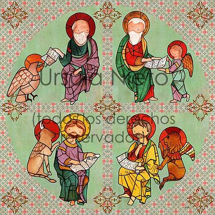 Cuadro de los cuatro Evangelistas