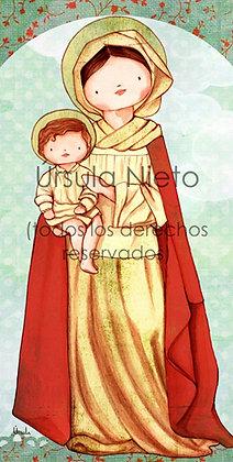 Virgen del Colegio Adharaz (Sevilla)