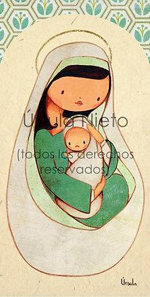 Virgencita verde 02