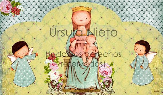 Tríptico de la Virgen de Ainoa