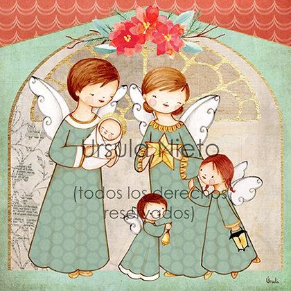 Angelitos del portal