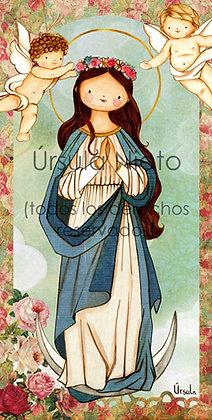 Inmaculada de las flores (10x20cm)