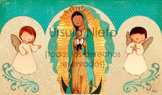 Tríptico de la Virgen de Guadalupe
