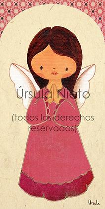 Angelito rosa oscuro 01