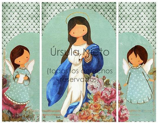 Tríptico de la Inmaculada (interior)