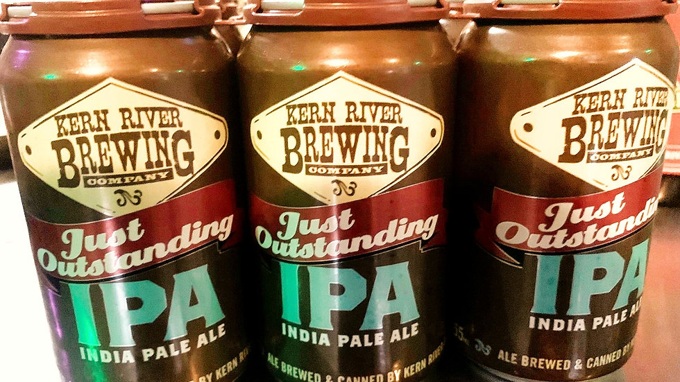 Kern River Brewing Just Outstanding IPA 6.8% ABV 12oz 6pack