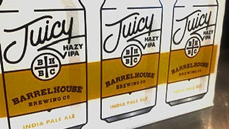 Barrel House Juicy HIPA 6.5% ABV 12oz 6pack