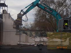 Demolition morning 25